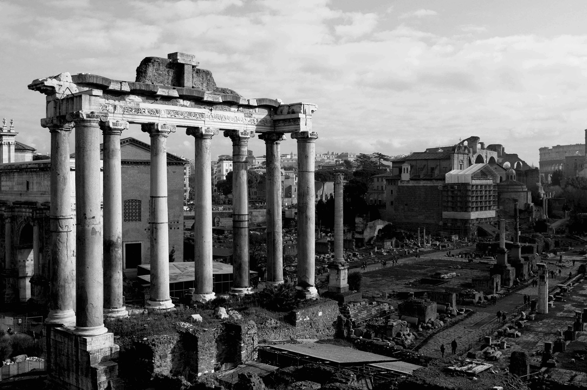 Photograph Foro Romano by Nick Gentile on 500px