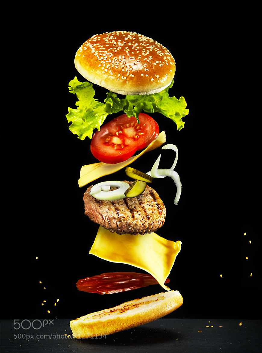 Photograph Flying burger by Sylvain Millier on 500px