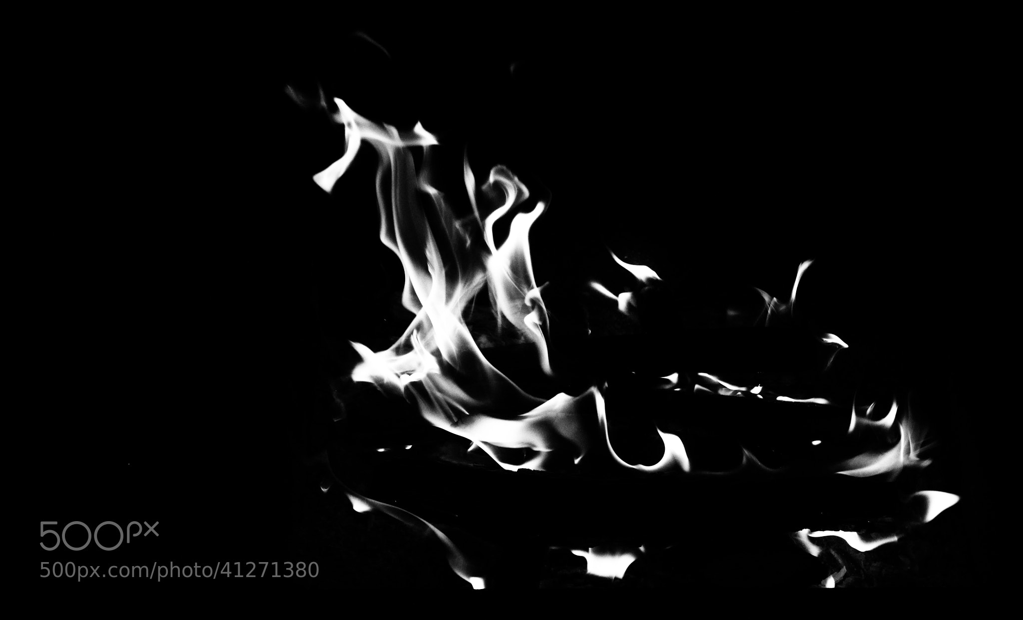 Photograph Silver Flames by Mihai Adam on 500px