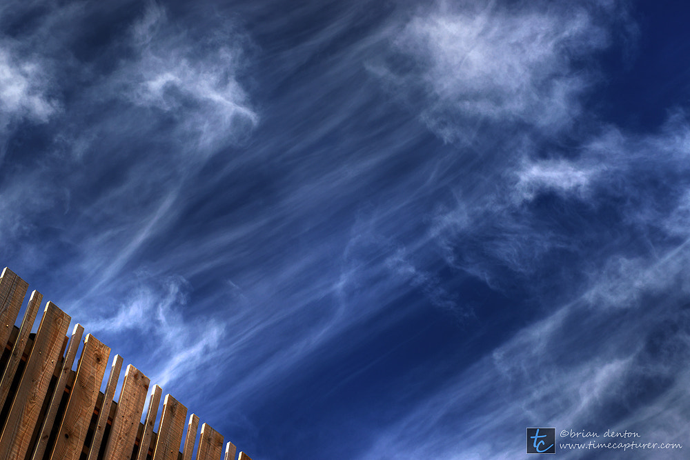 Photograph fence and sky by Brian Denton on 500px