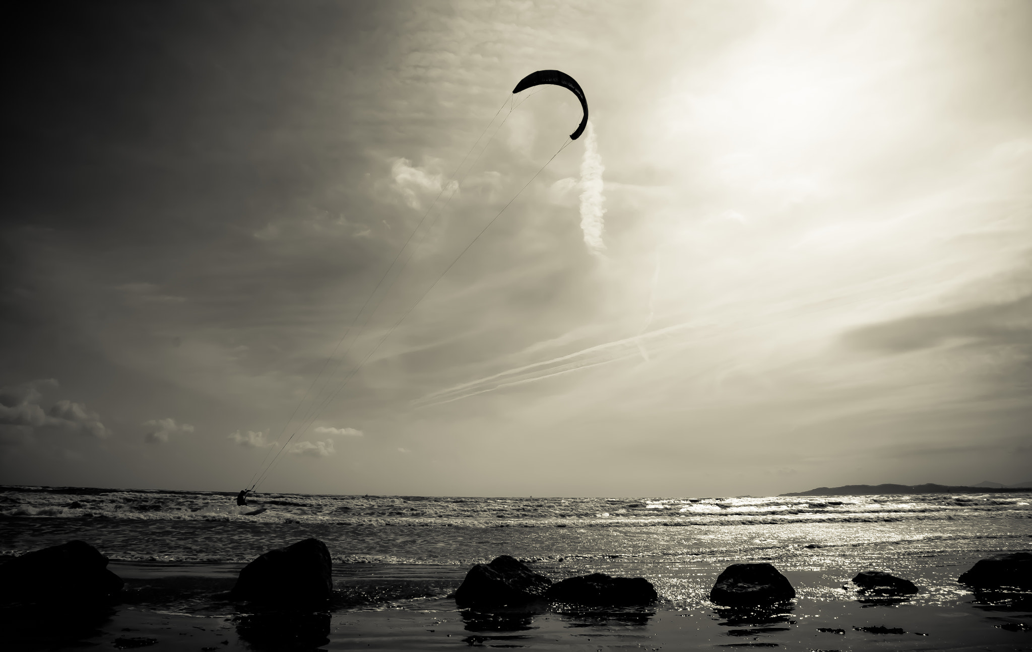 Photograph Kite Surfing by Dan Alexandru on 500px