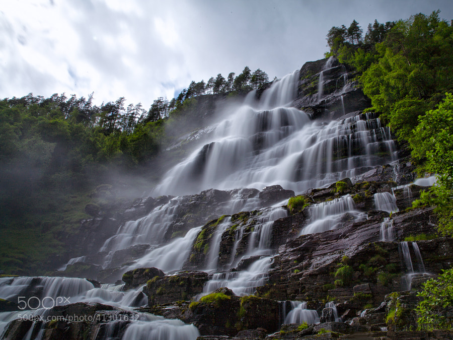 Tvindefossen #03 by Samuele Silva on 500px.com