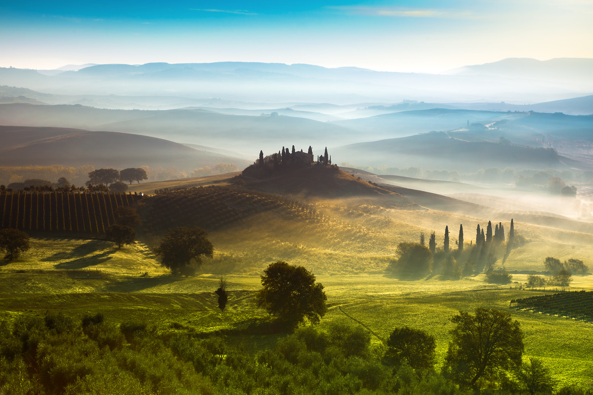 Photograph Val d'Orcia III by Adnan Bubalow on 500px