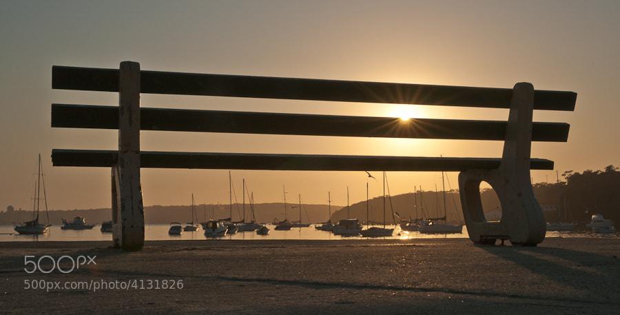Early morning image taken at Balmoral Beach