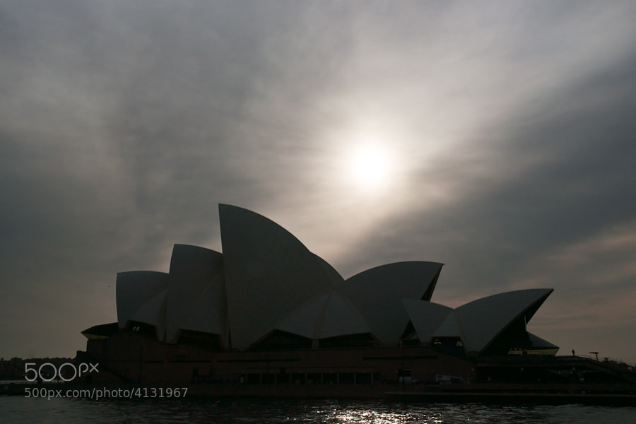 Image taken from one of the Sydney Harbor ferries