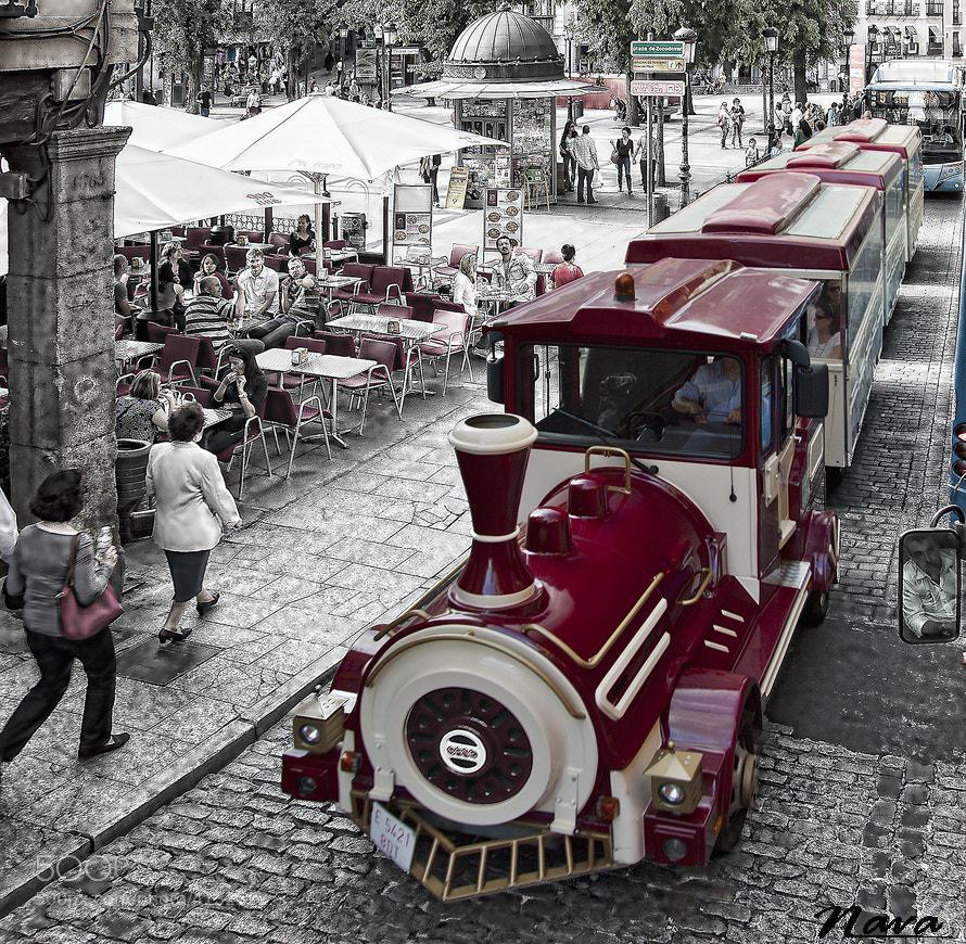 Photograph the little train by Antonio Muñoz on 500px