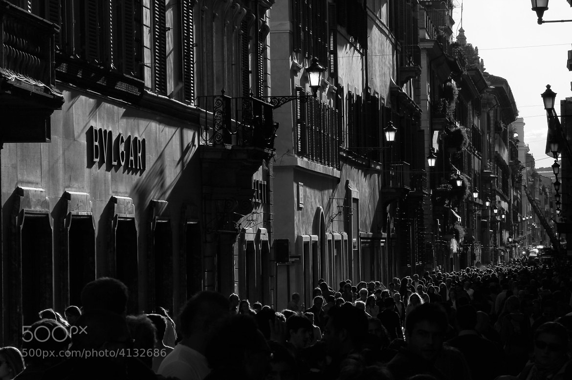 Photograph Shopping madness by Giuseppe Grimaldi on 500px