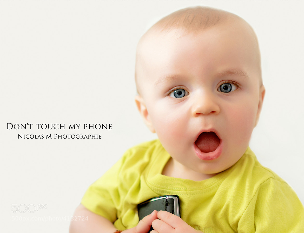 Photograph Don't touch my phone by Nicolas.M  photographie on 500px
