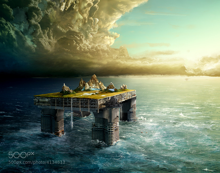 Photograph Kingdom Offshore by Fabian Oefner on 500px