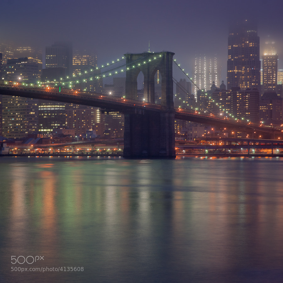 Brooklyn Bridge and Reflections