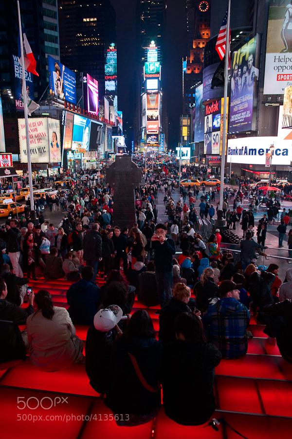 Image taken in Times Square