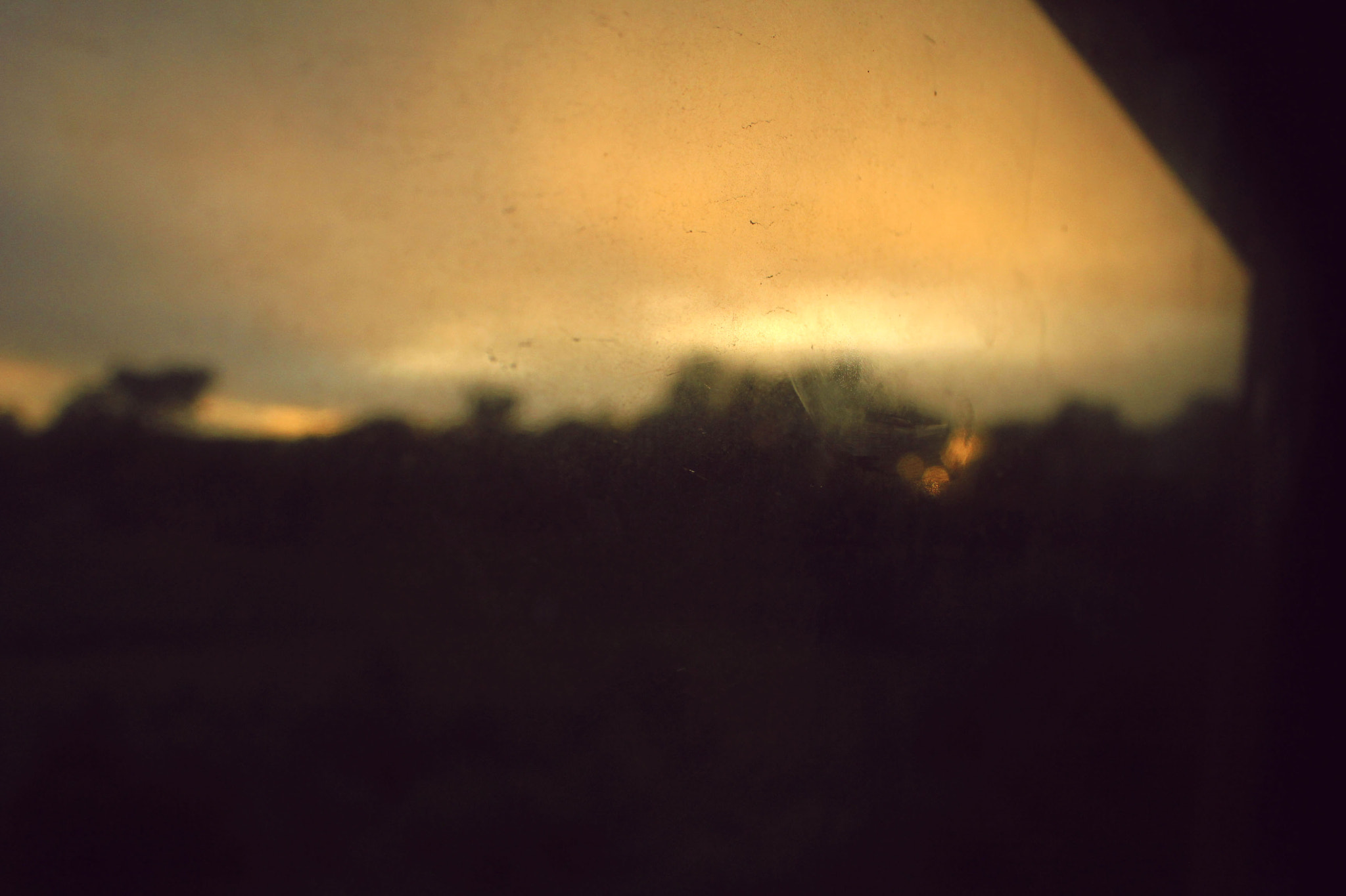 Photograph Sunset view from the train by Hoàng Đại on 500px