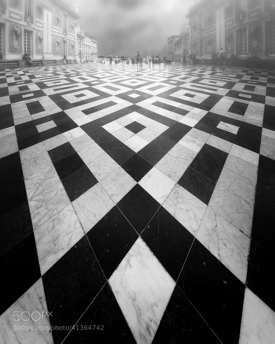 Photograph Versailles Courtyard by Alan Dougans on 500px