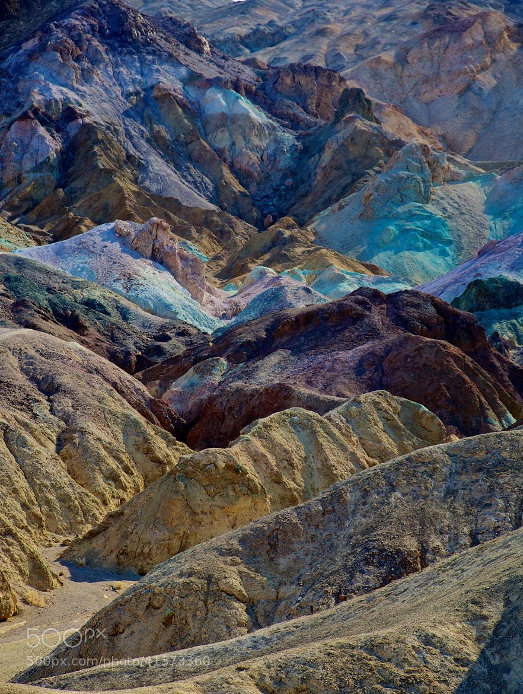 Photograph Death Valley Artist's Palette by mitch aunger on 500px