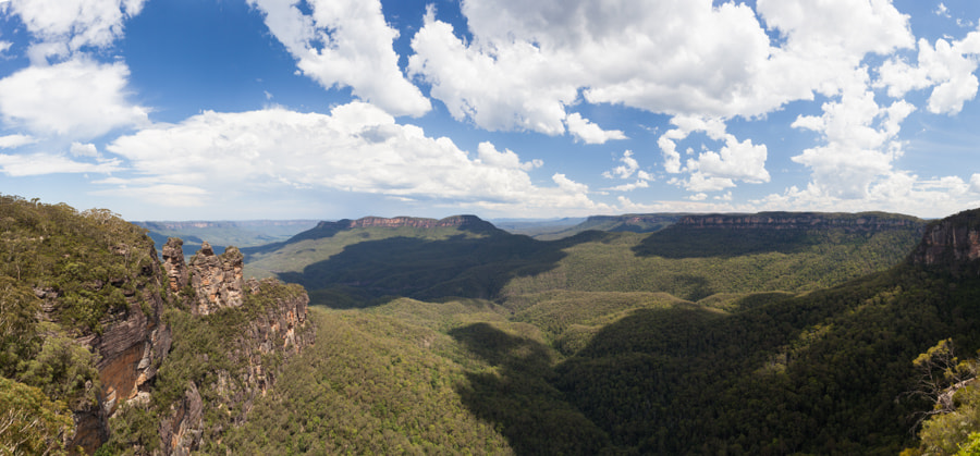 Photograph Blue Mountains outlook by Hans Woltering on 500px