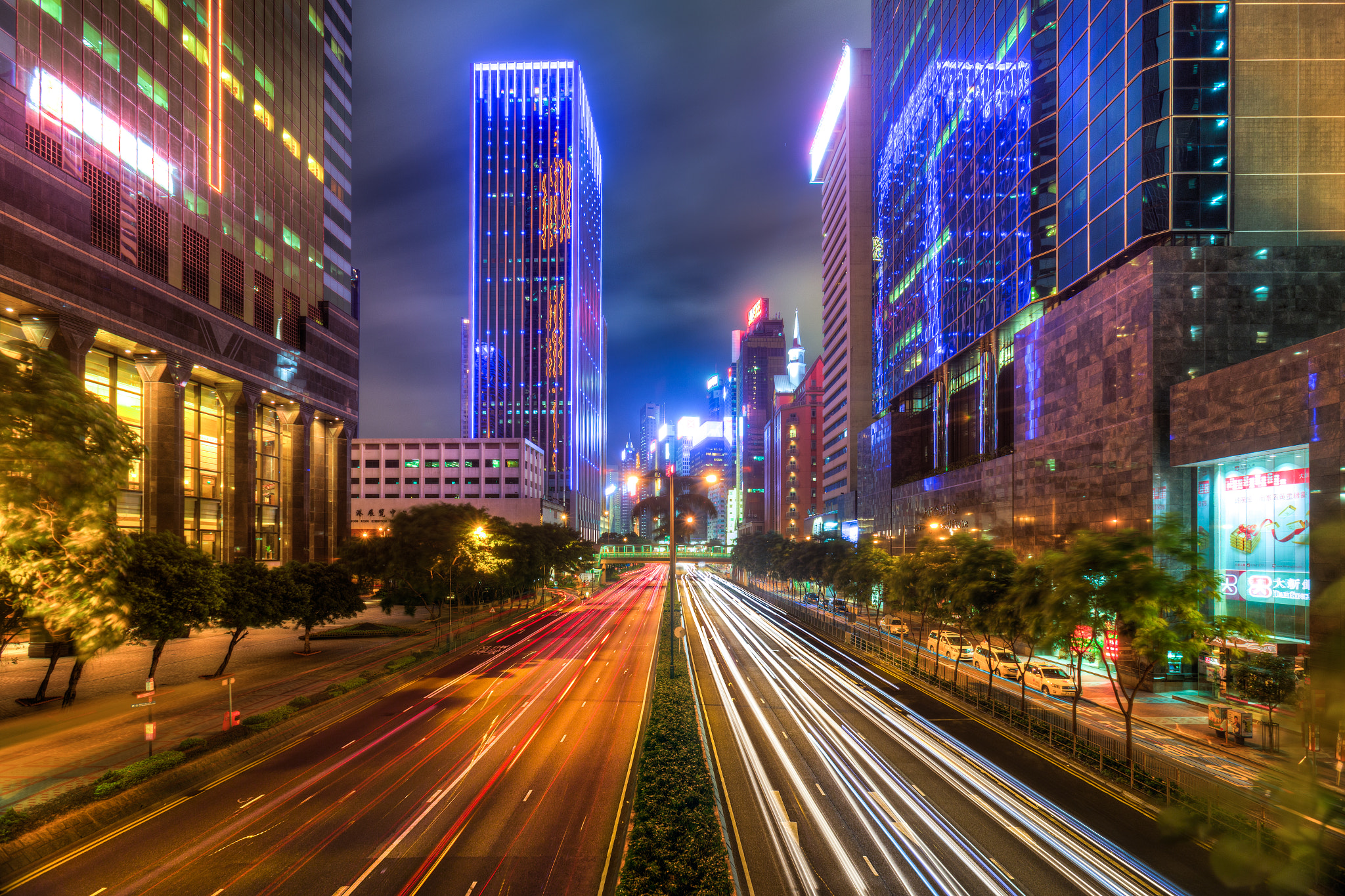 Photograph Hong Kong Highway by Tristan O'Tierney on 500px