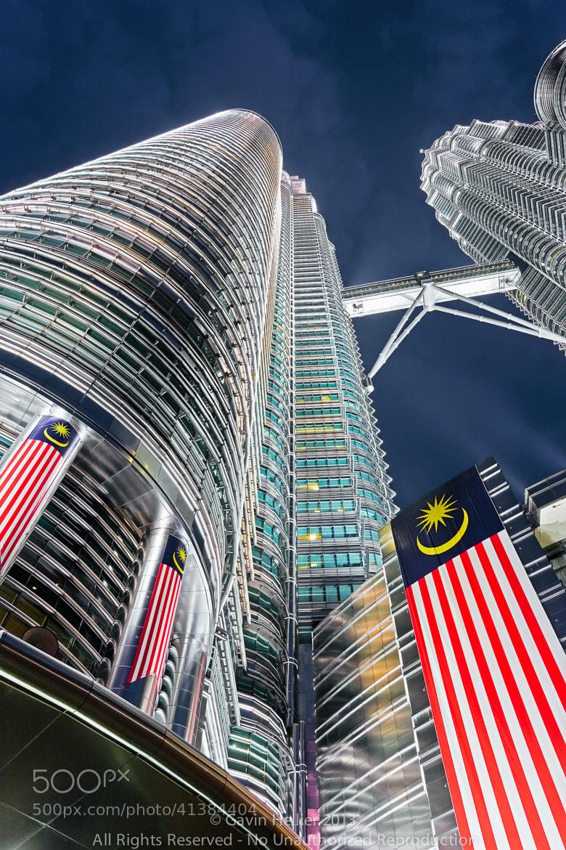 Photograph Malaysia, Kuala Lumpur, Petronas Towers by Gavin Hellier on 500px