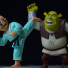 Постер, плакат: Shrek Fight