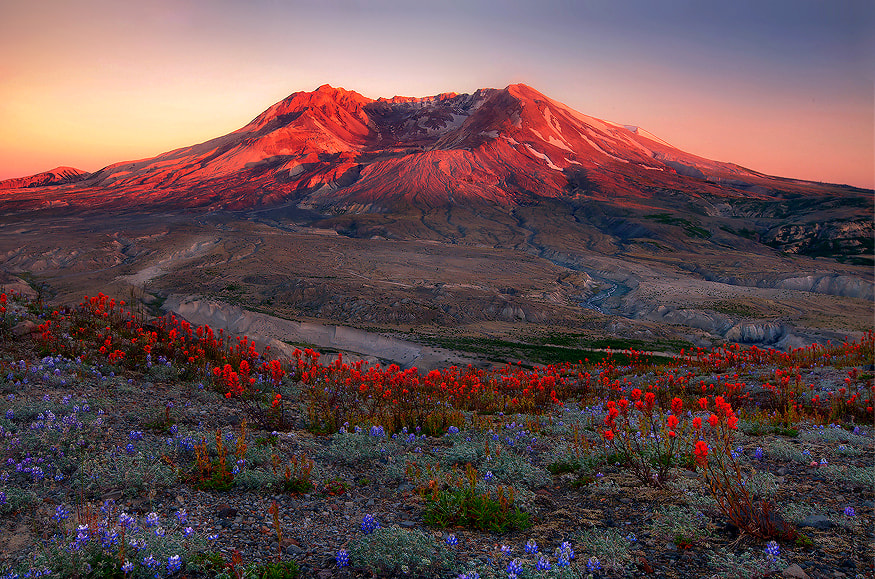Photograph Soft Light Falls on St. Helens by Trevor Anderson on 500px
