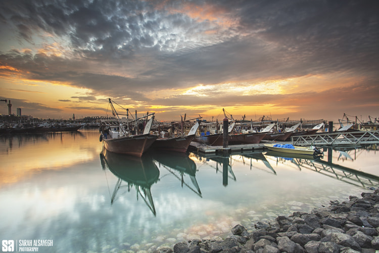 Photograph Kuwait - The Old New Fishing Harbour by Sarah Alsayegh on 500px