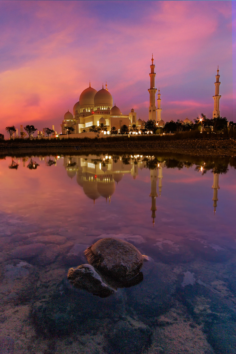 Photograph Mosque Reflection by bader Al Hattab on 500px