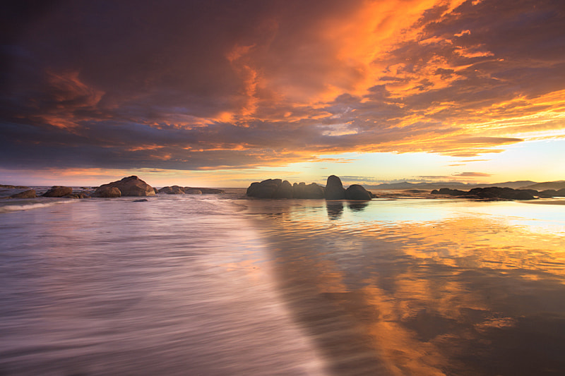 Photograph Sunset Reflections by Alex Wise on 500px