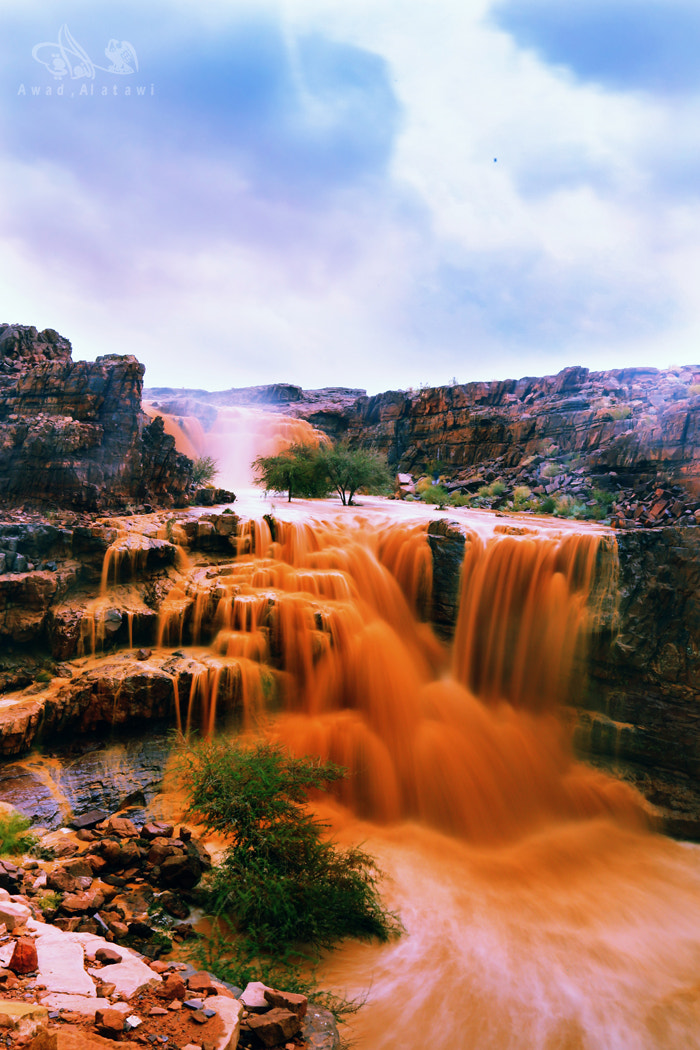 Photograph Desert waterfall by A W A D    on 500px