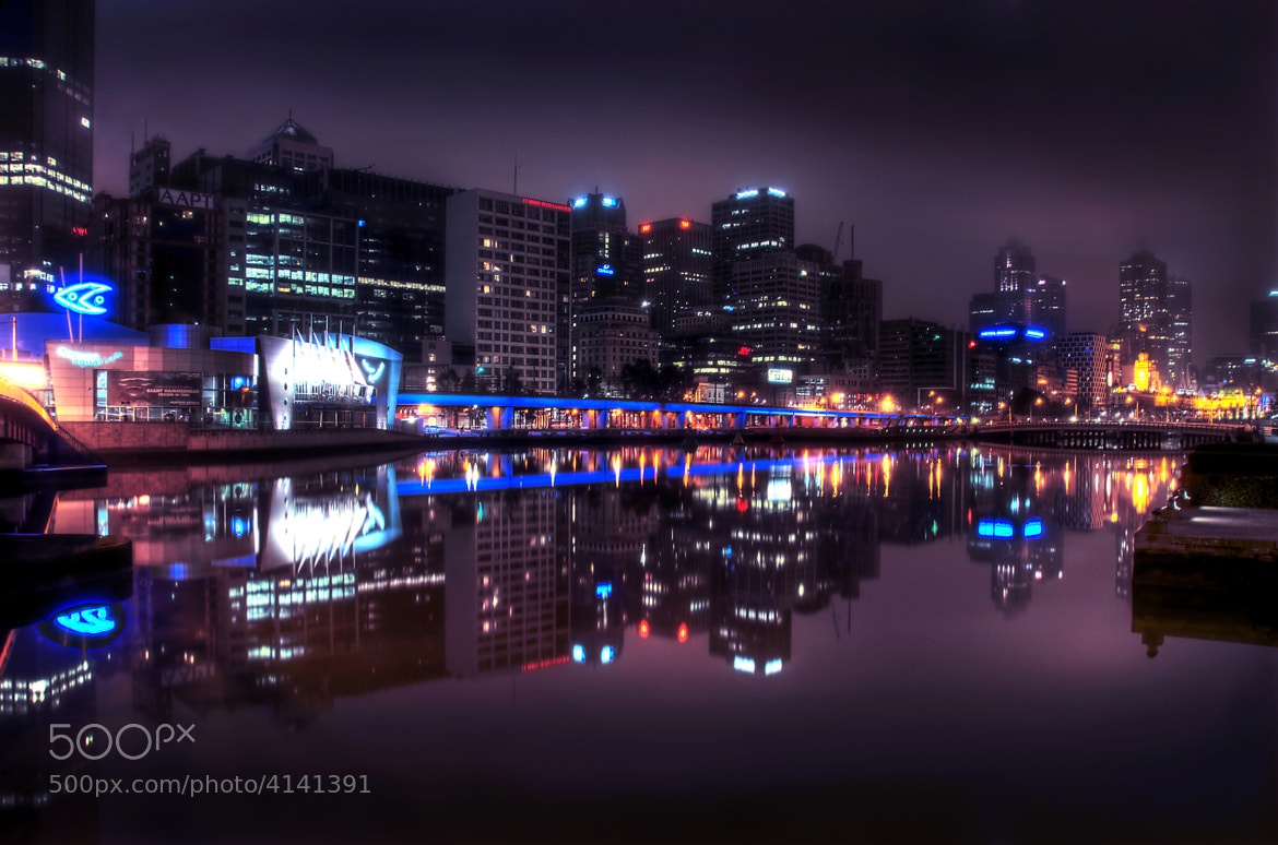 Photograph Southbank Fog by Andrew Dickman on 500px