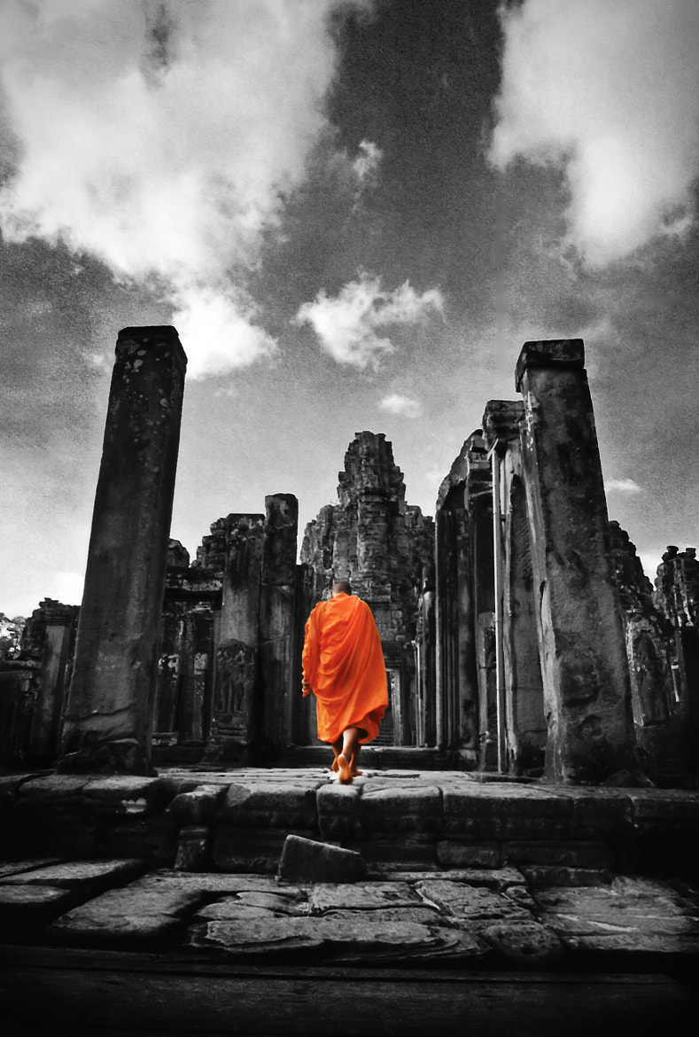 Photograph Cambodian Monk by Shahrie Saleh on 500px