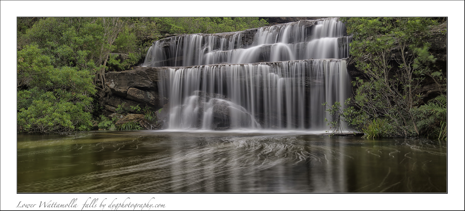 Photograph Lower Wattamolla falls by donald Goldney on 500px