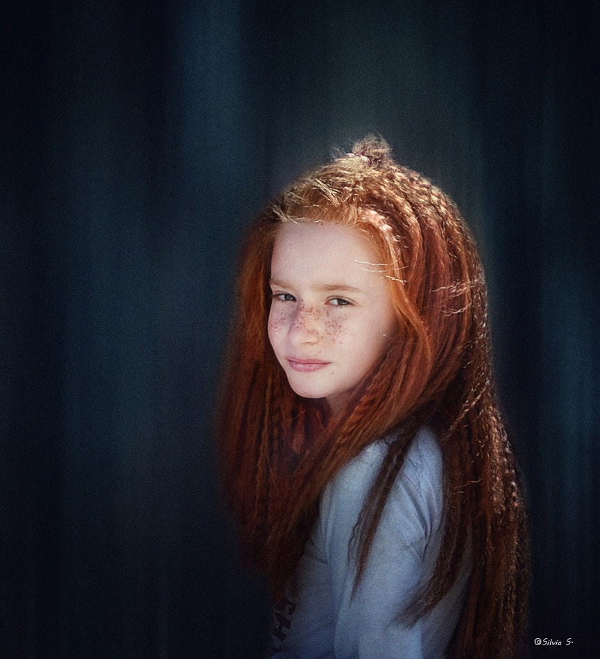 Photograph A girl with red hair by Silvia S. on 500px