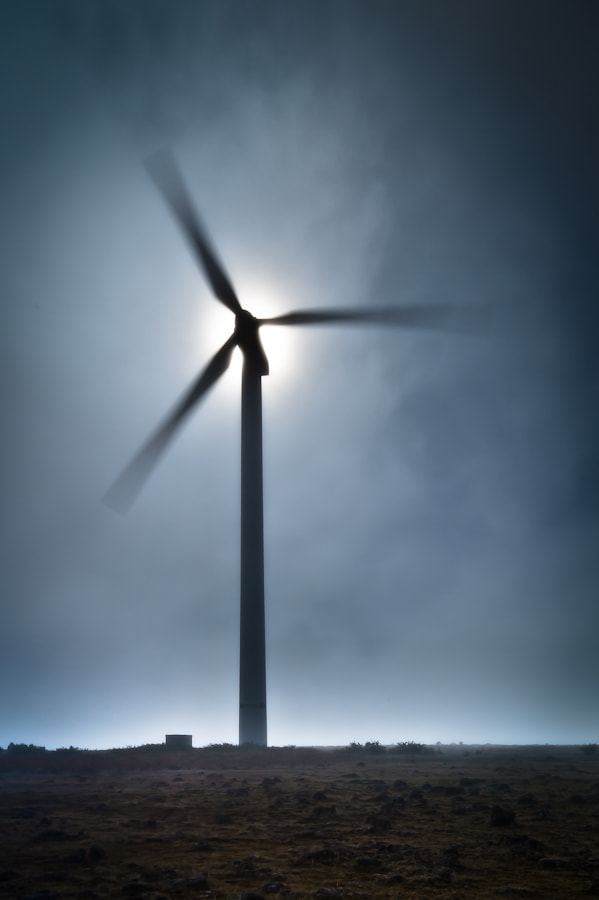Photograph Madeira Wind Turbine at Paul de Serra plateau by Magnus Larsson on 500px