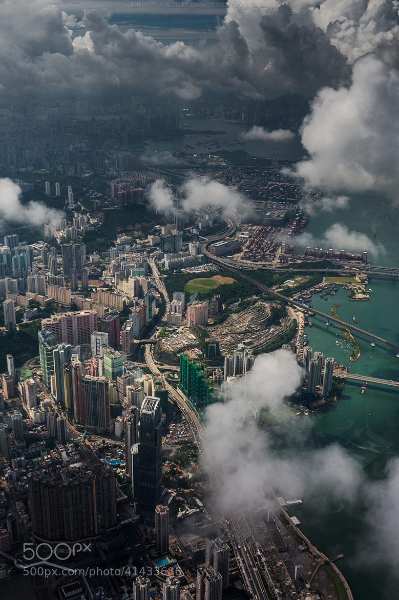 Photograph Aerial HKG by Coolbiere. A. on 500px