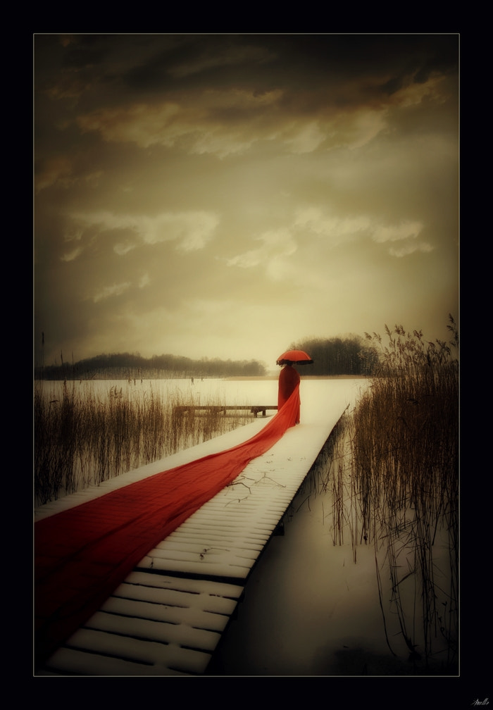 Photograph Red bridge by Amellia KCphotography on 500px