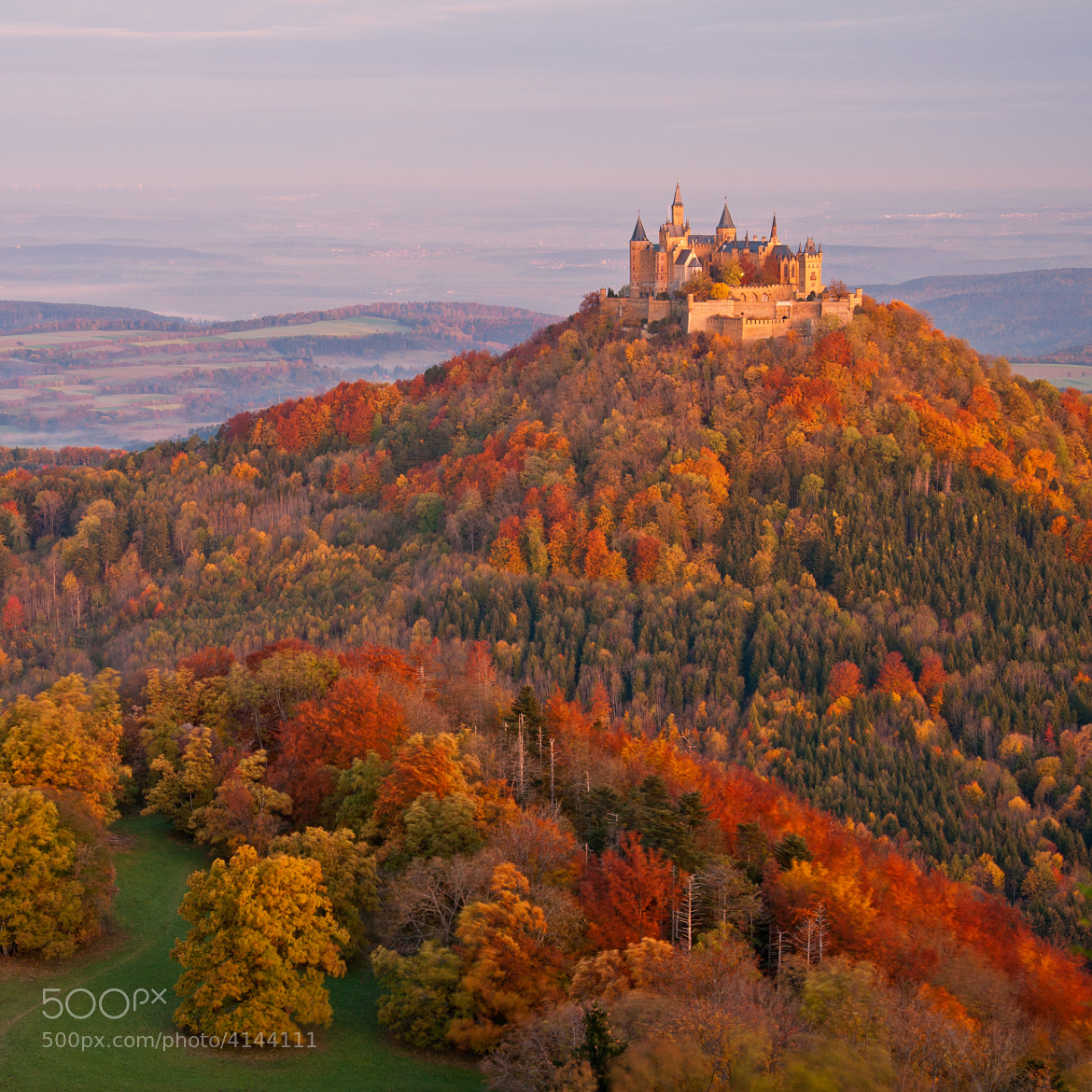 Photograph Burg Hohenzollern by Dominic Walter on 500px