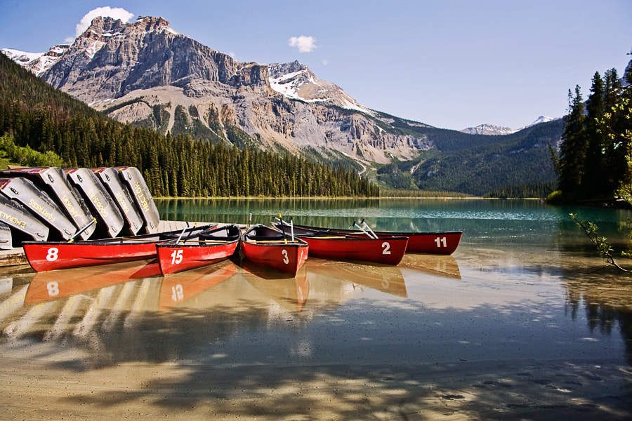 Photograph Emerald Lake by Jack Booth on 500px