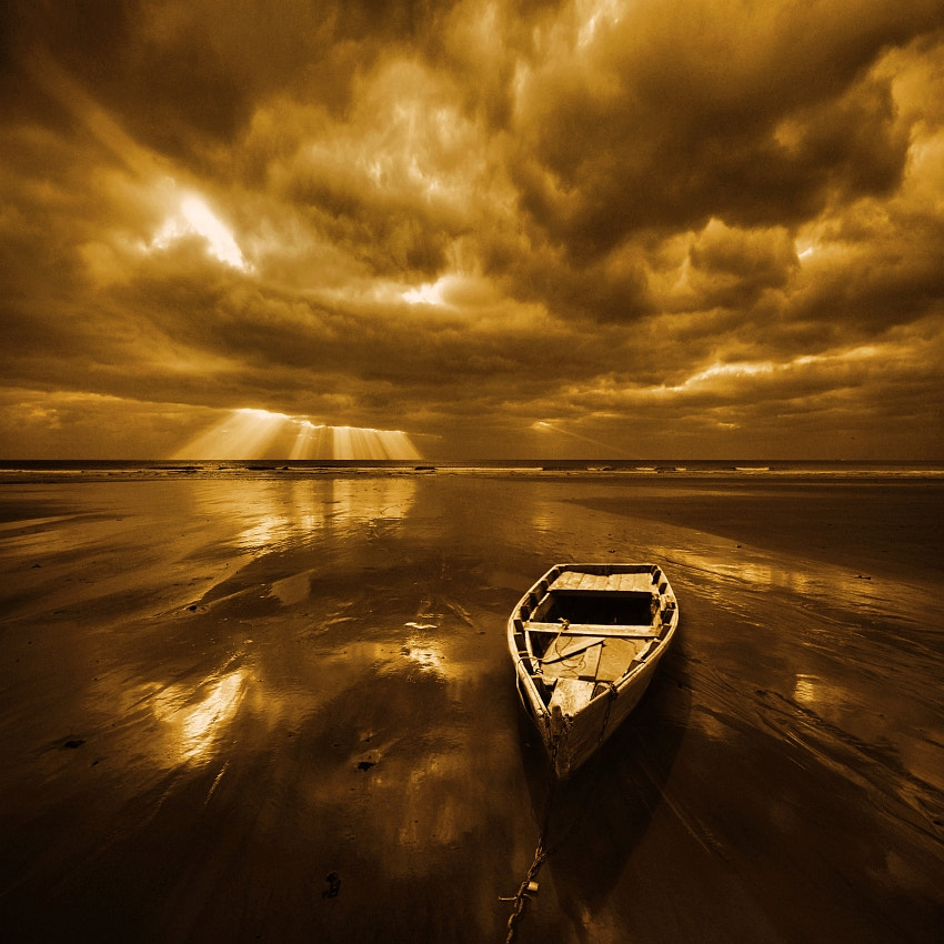 Photograph Lost Boat  by Nicholas  Javed on 500px
