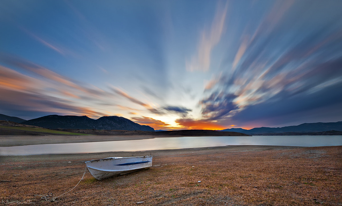 Photograph Silent boat by Nikos Koutoulas on 500px