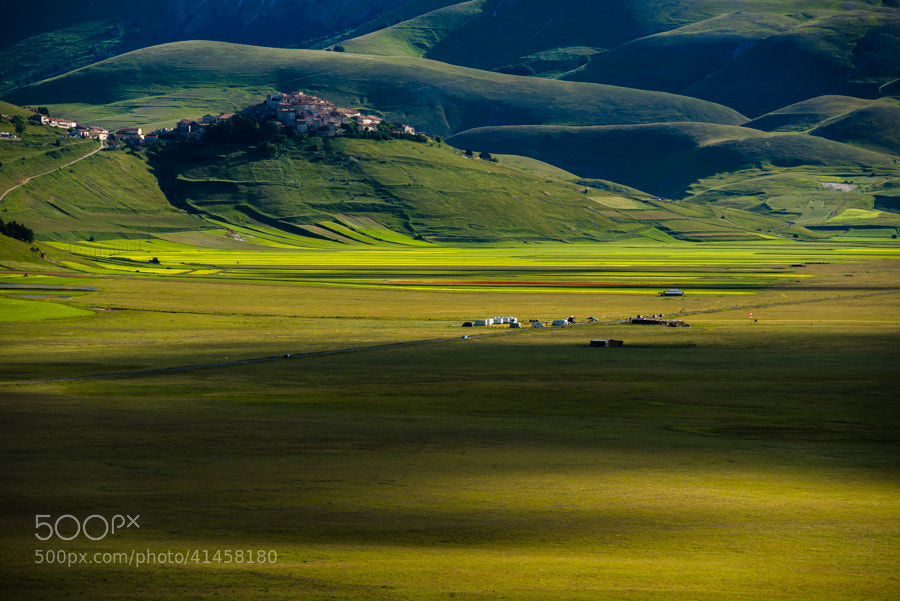 Photograph Morning light on Castelluccio by Hans Kruse on 500px