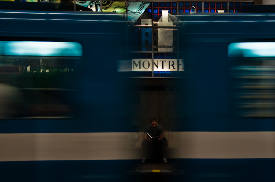 Photograph Waiting for the Train to Stop by Sandra Garip on 500px