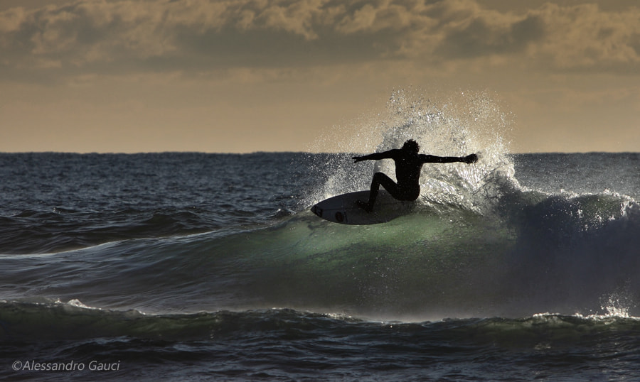 Photograph Surfing by Alessandro  Gauci on 500px