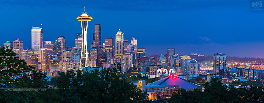 Photograph Downtown Seattle by Nhut Pham on 500px