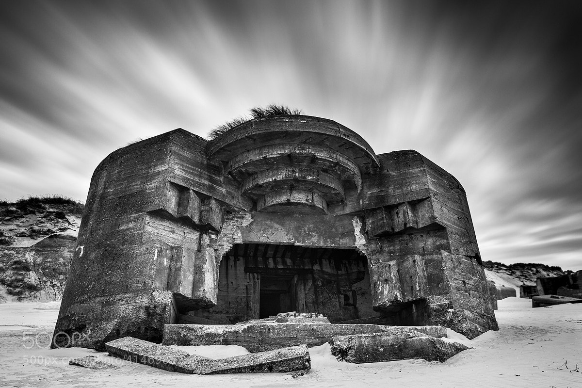 Photograph Bunker-WW2 by Jonas Madsen on 500px