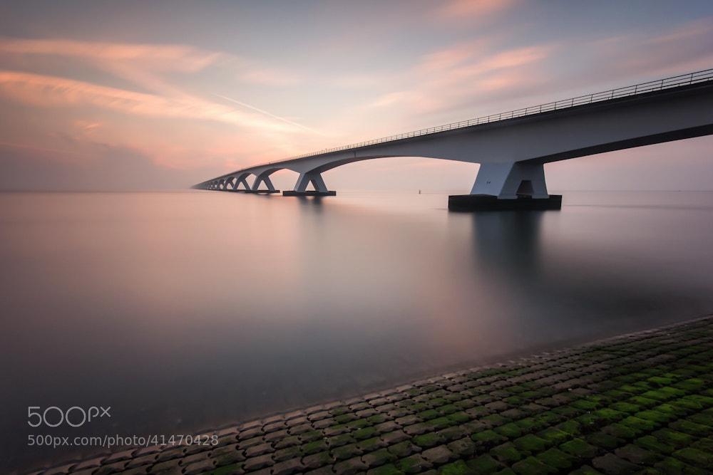 Photograph Zeelandbrug sunrise II by Jan Teeuwen on 500px
