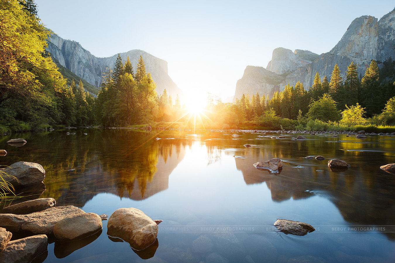 Photograph Let the sun shine in Yosemite valley by Beboy Photographies on 500px
