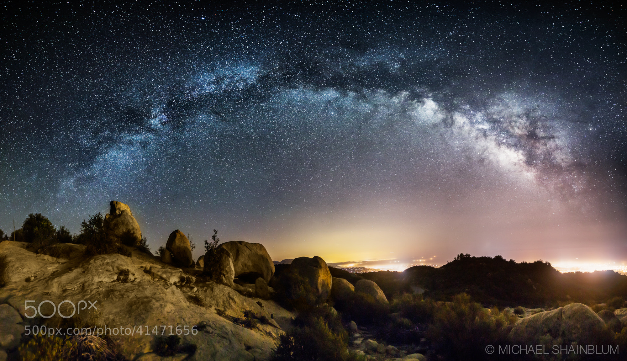 Photograph The Galaxy Over Lizards Mouth by Michael Shainblum on 500px