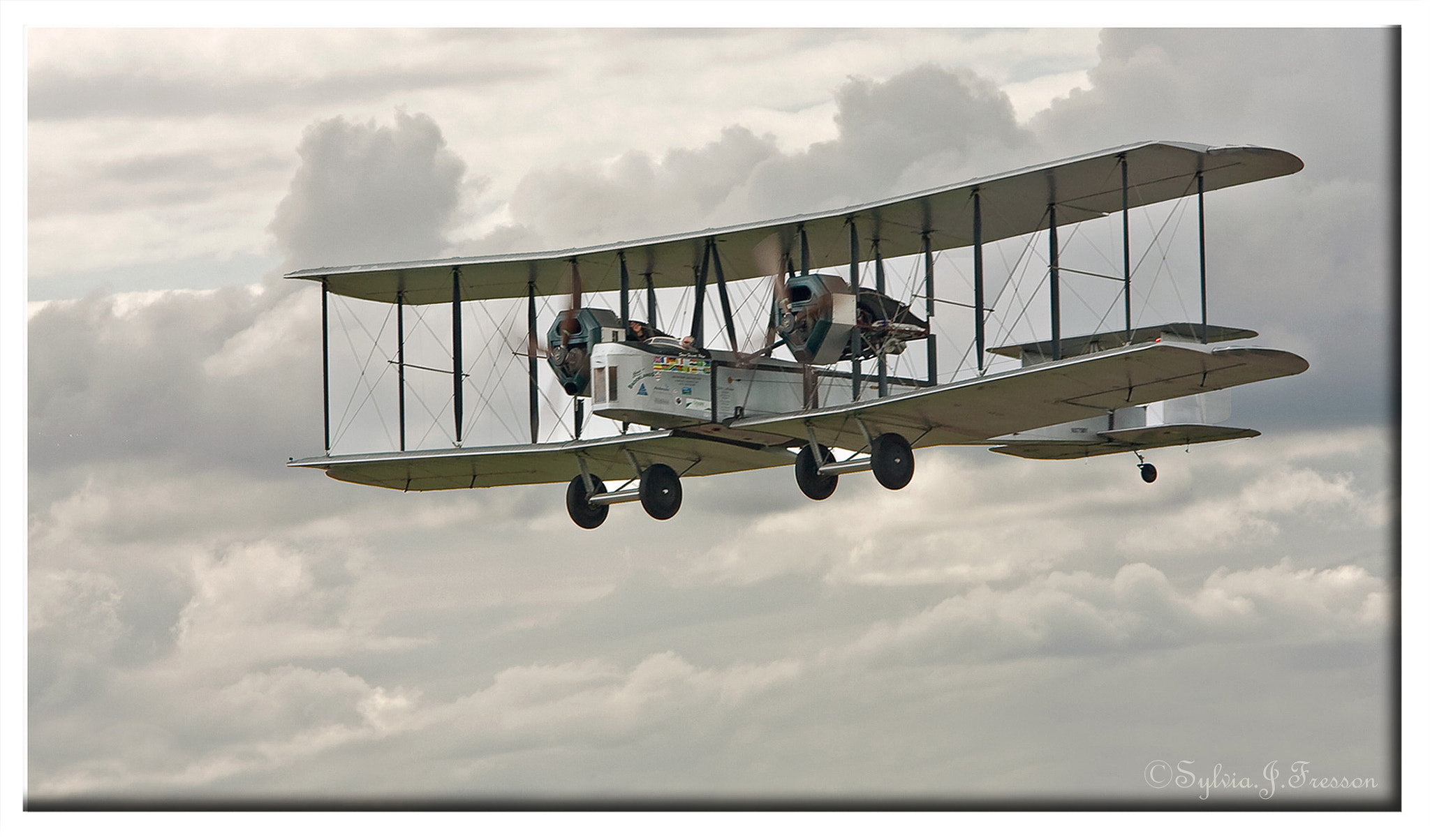Photograph Vickers Vimy Biplane by Sylvia Fresson on 500px