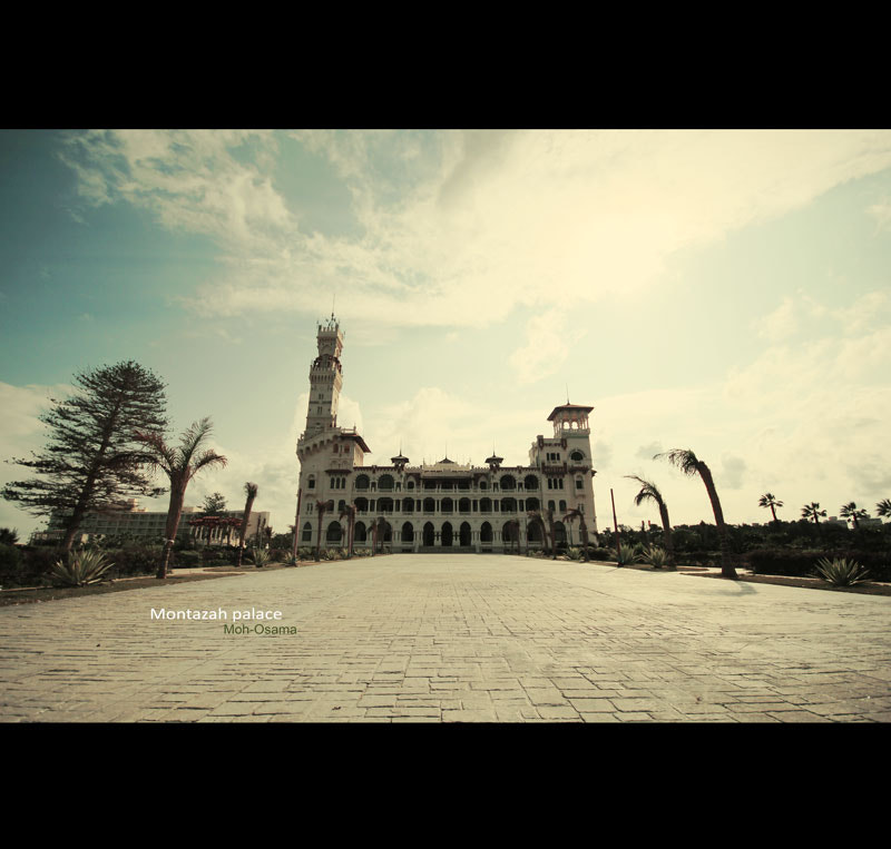 Photograph Montazah palace by Mohamed Osama on 500px