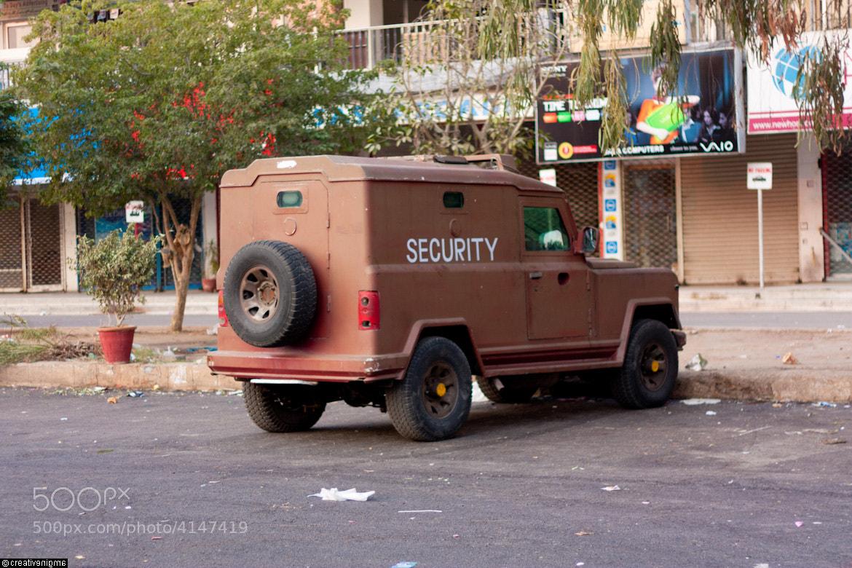 Photograph Secrurity Van by Saifuddin Abbas on 500px