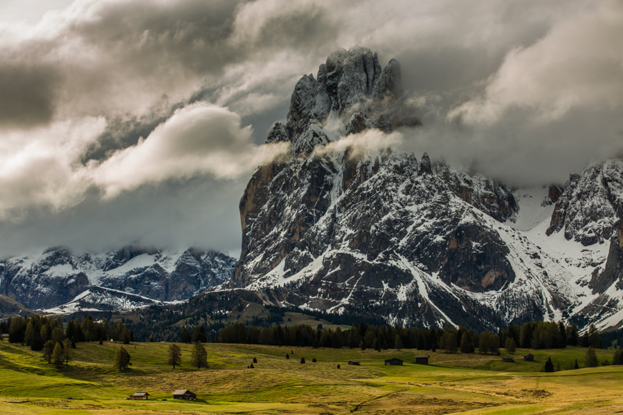 Photograph Morning in the Dolomites mountains by Hans Kruse on 500px